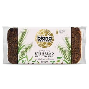 Biona Rye Bread Vitality with Sprouted Seeds (Organic) ~ 500g