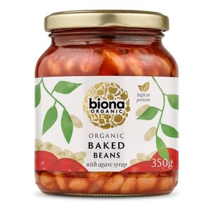 Biona Baked Beans in Tomato Sauce (Organic) ~ 340g