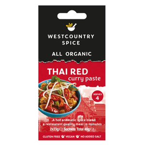 Westcountry Thai Red Curry Paste (Organic) ~ 46g