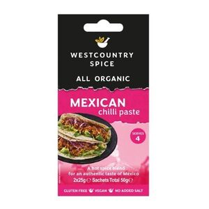 Westcountry Mexican Chilli Paste (Organic) ~ 50g