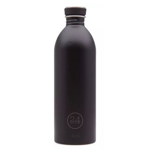 24 Bottles Urban Bottle Tuxedo Black ~ 1L