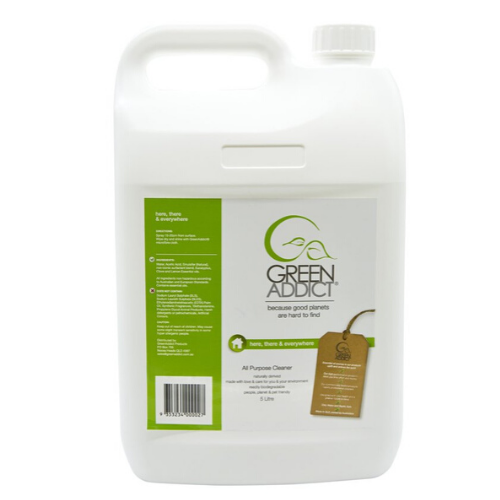 GreenAddict Natural All Purpose Surface Cleaner ~ 5 Litre Refill