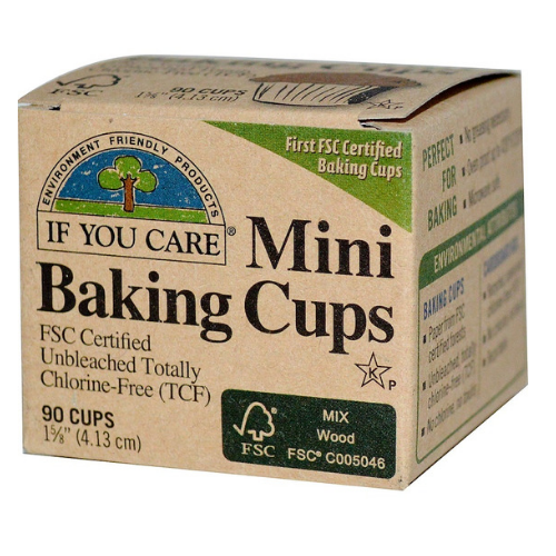 If You Care Baking Cups (Mini) ~ 90 cups