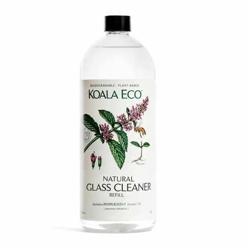 Koala Eco Glass Cleaner - Peppermint Essential Oil ~ 1L