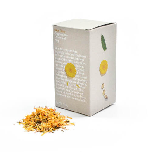 Love Tea Skin Glow Loose Leaf (Organic) ~ 50g