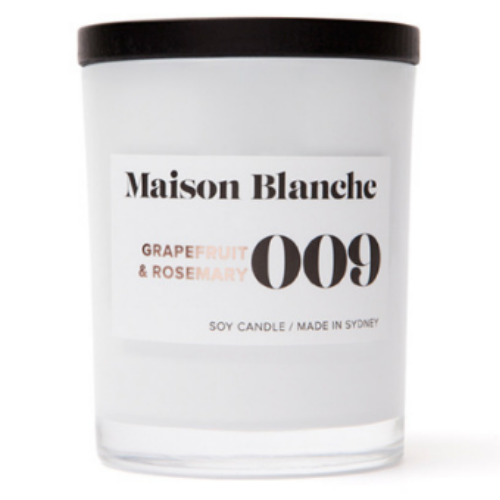 Maison Blanche Grapefruit & Rosemary Candle ~ Small