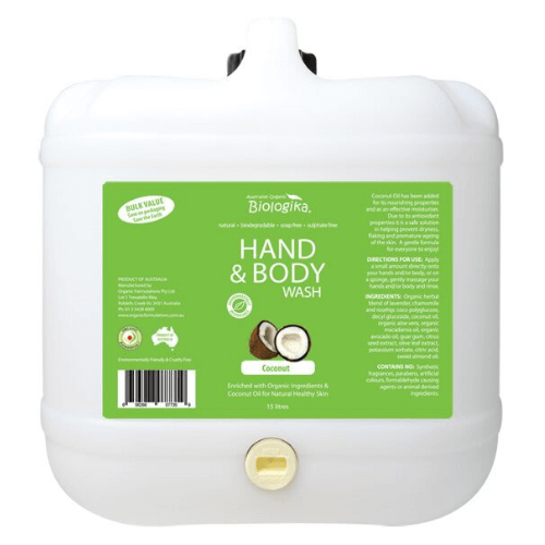 Coconut Hand and Body Wash ~ Bulk Value 15L