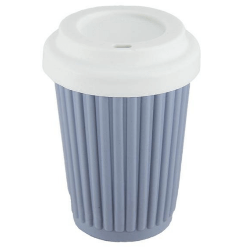 Onya Reusable Coffee Cup Grey / Blue - Regular