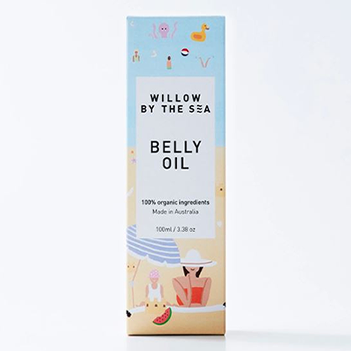 Willow By The Sea Belly Oil ~ 100ml
